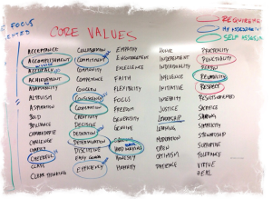 OC-31-13 Core values