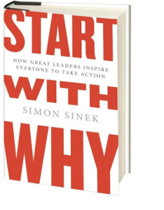 "Simon Sinek's ""Start With Why"""