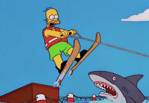 Homer Jumps the Shark
