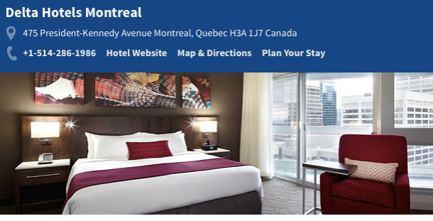 Delta Hotels Montreal